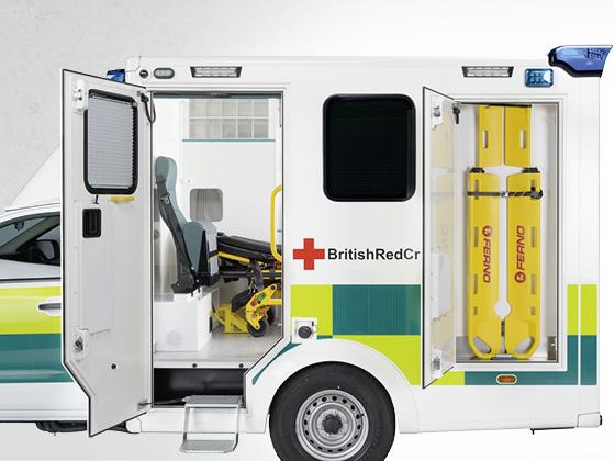 All Terrain Ambulance 4x4, UK-Version - Wietmarscher