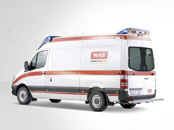 Type C Emergency Ambulance Van Design Wietmarscher