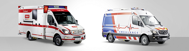 The WAS 500 Design Box Body Ambulance And 300 Set Worldwide Standards In Equipment Functionality Safety